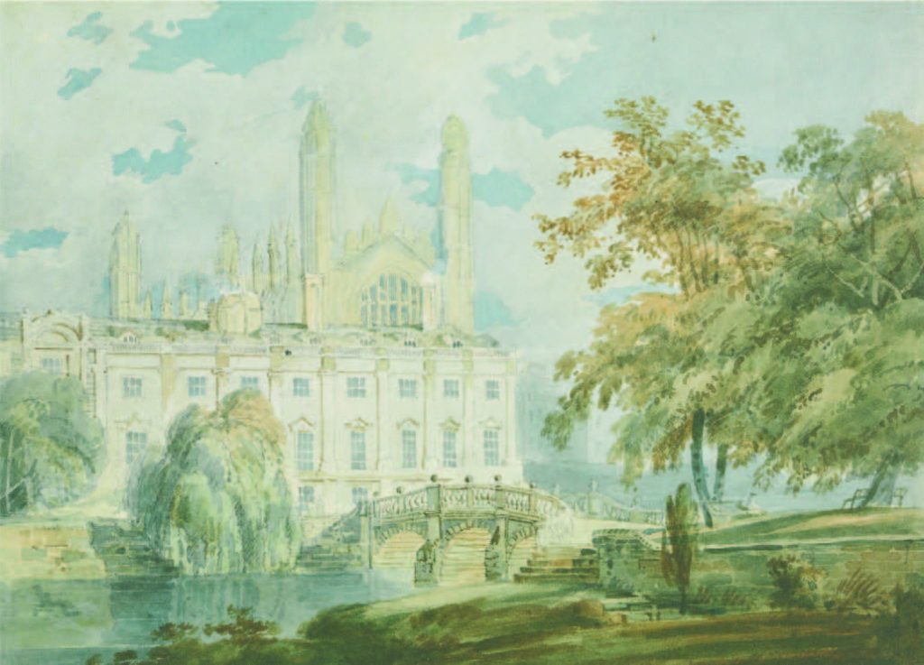 Turner-Clare Hall and King's College Chapel
