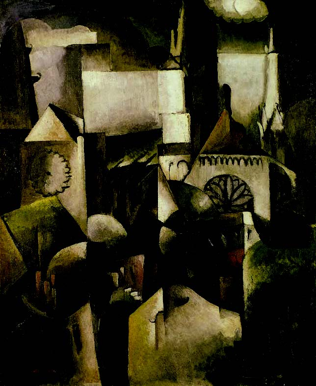 cubism-Albert-Gleizes-Chartres-Cathedral