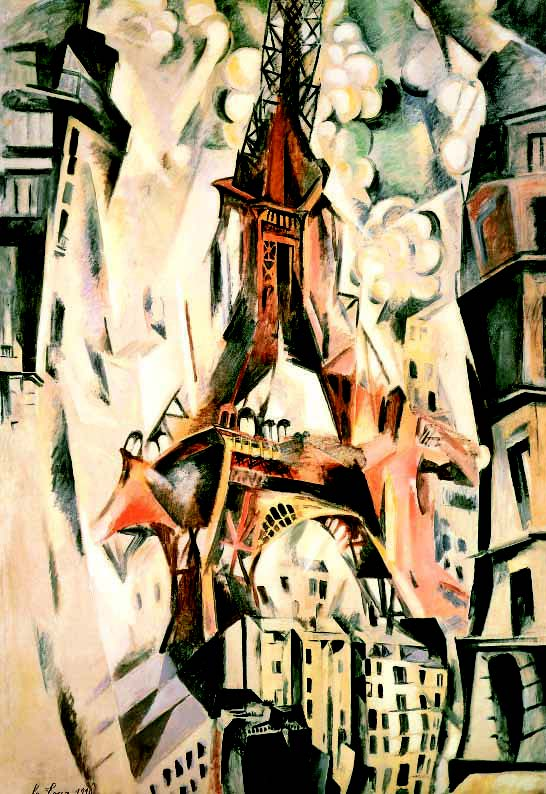 cubism-Robert-Delaunay-Eiffel-Tower